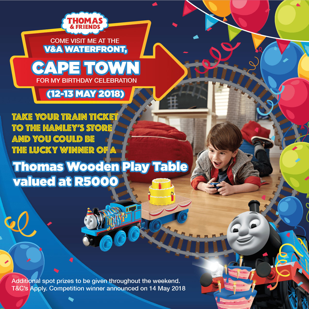 Thomas & Friends, Hamleys CT bday event-min
