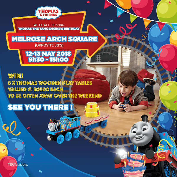 Thomas & Friends, Melrose Arch bday event-min
