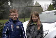 clever kids find way to collect and reuse rain water