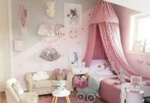 pink unicorn bedroom