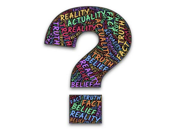 true or false question mark