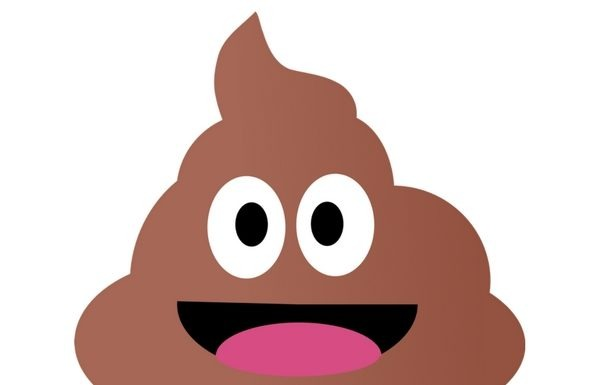 emoji poop poo constipation to diarrhoea
