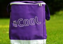 cooler bag for snacking on the road