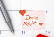 date night in calendar