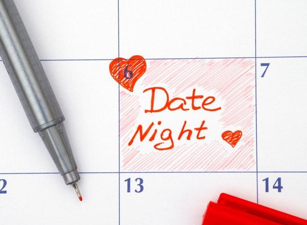 date night in calendar