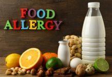 food allergy milk peanuts lemon lime orange chocolate