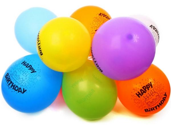 kids birthday party balloons