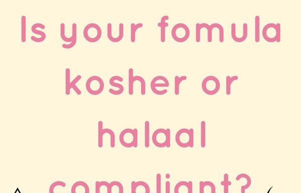 kosher halaal formula