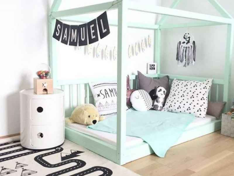 other benefits of black and white in monochrome nursery