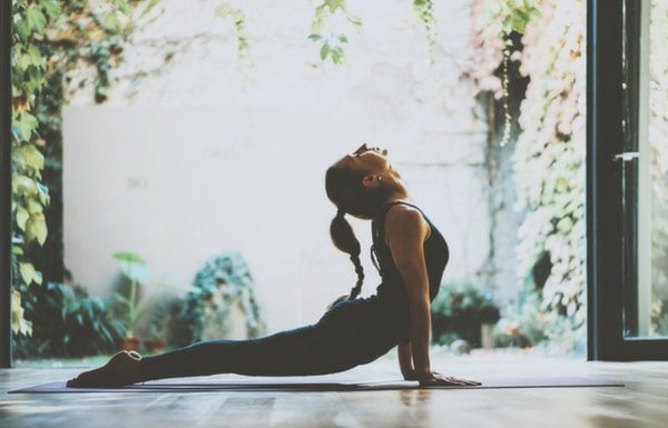 woman-yoga-stretching