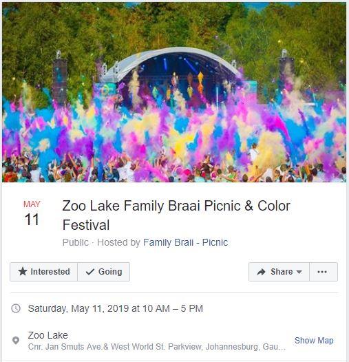 Zoo-Lake-Braai-Event
