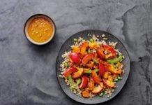 Recipe: fruity vegan cous cous salad