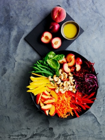 rainbow-super-food-bowl-with-plums