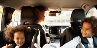 children-in-rear-facing-car-seat-playing