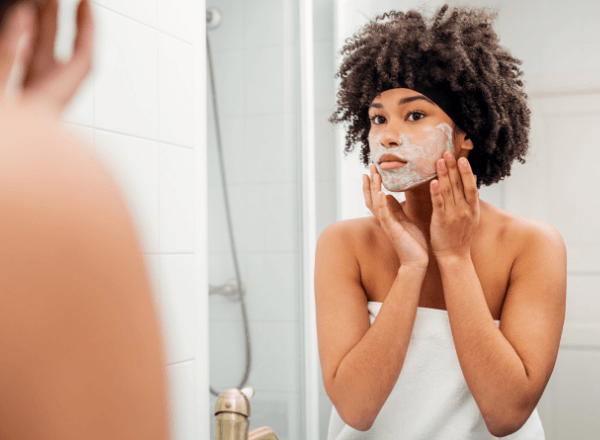 mother-applying-diy-homemade-face-mask-that-she-made-to-improve-her-skin-and-live-a-happy-lifestyle