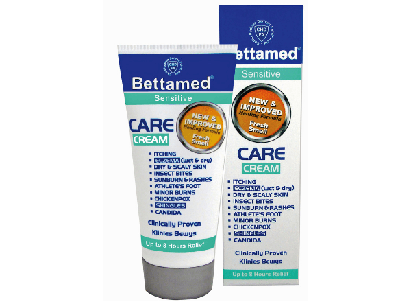 Bettamed care cream for sensitive skin