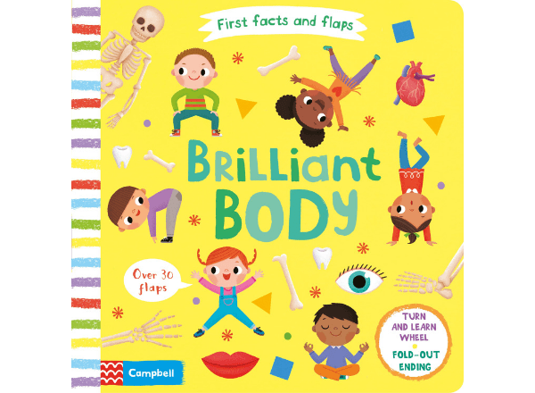 First Facts and Flaps book: Brilliant Body