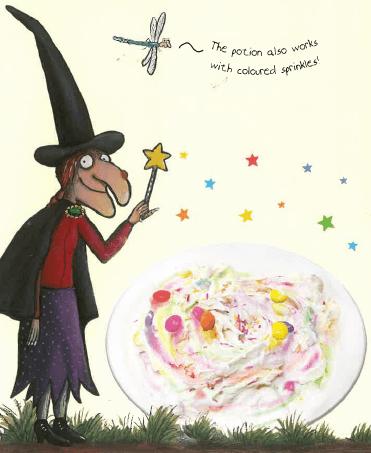Halloween recipe for Ice Cream Potion