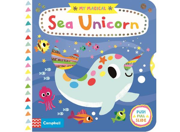 My Magical Sea Unicorn book for children