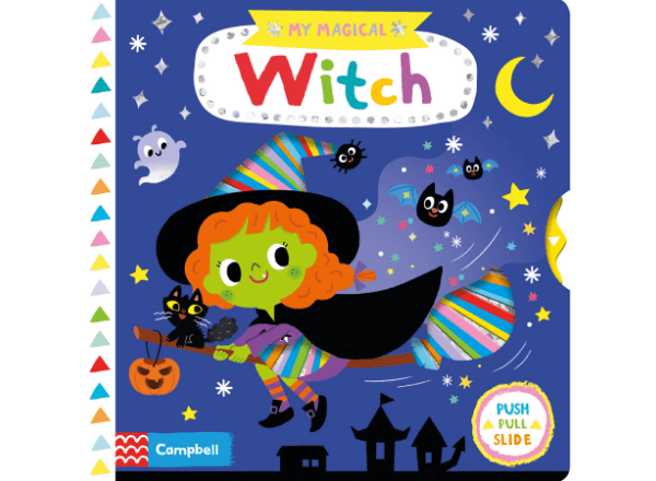My Magical Witch Halloween storybook cover