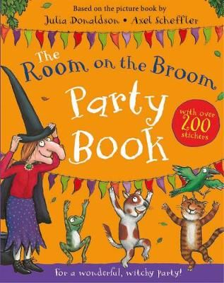Room on the broom party book cover