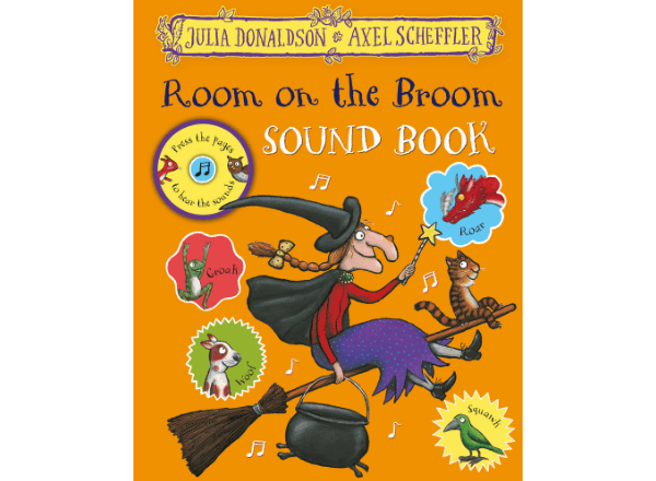 Room on the Broom sound book cover