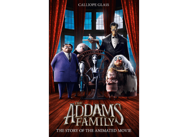 The Adams Family Halloween storybook