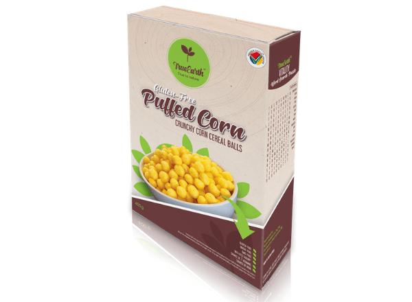 True Earth gluten-free puffed corn balls