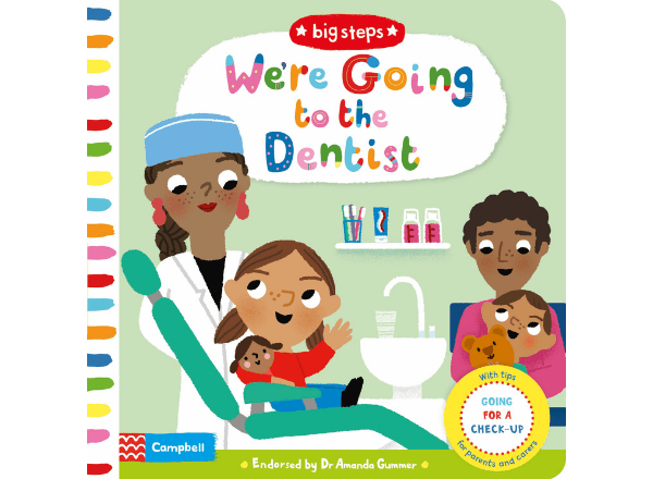 We're Going To The Dentist children's book