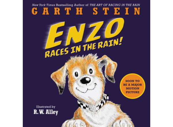 Enzo Races In The Rain preschooler storybook