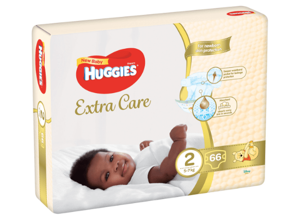 Huggies extra care nappies