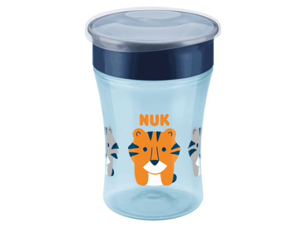 NUK Magic Cup with tiger decal