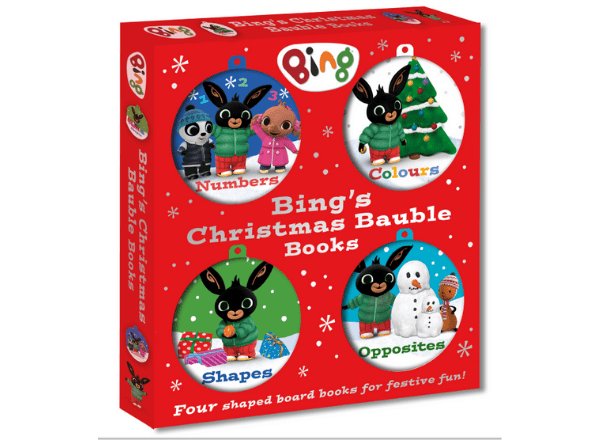 Bing's Christmas Bauble Books pack