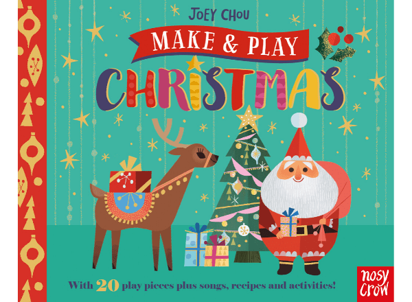 Make and Play Christmas book by Joey Chou