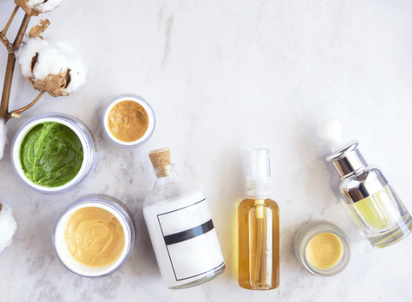 Skincare products for healthy and beautiful skin