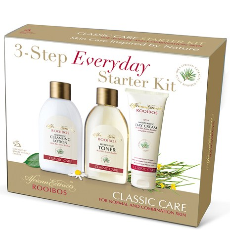 African Extracts 3 step everyday starter kit