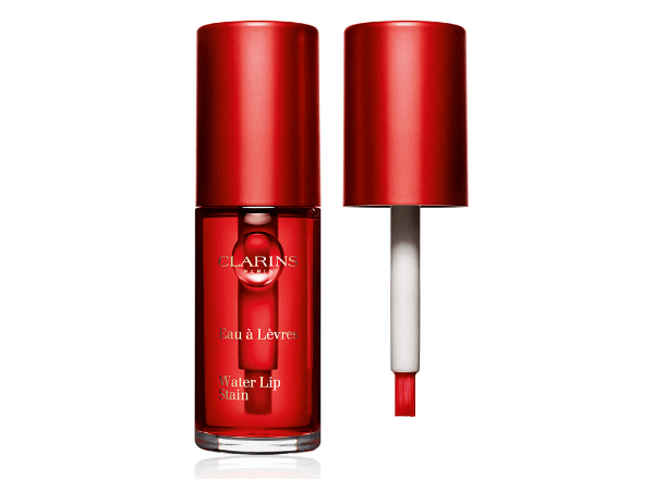 Clarins red water lip stain