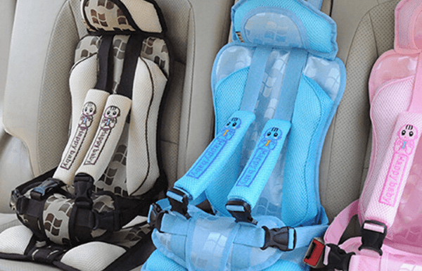 Fake and illegal car seats for toddlers
