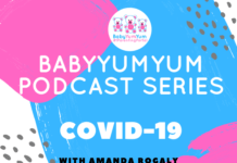 BabyYumYum podcast series on COVID-19