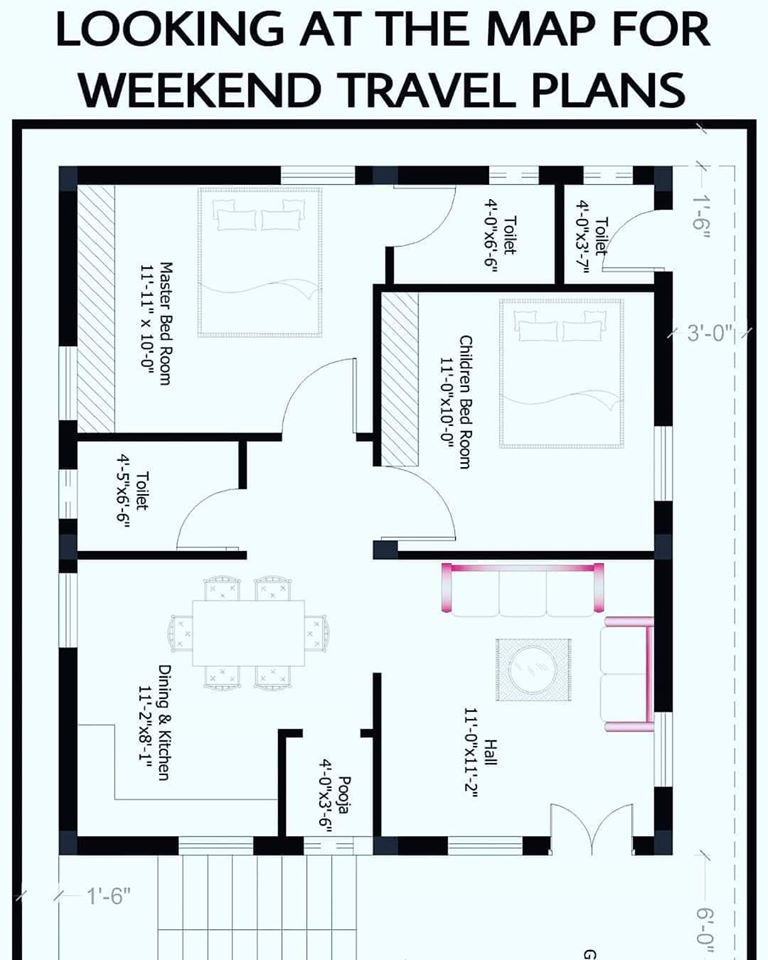 House plan map for self-isolation meme