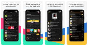 Different podcast apps to add to playlist