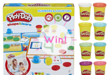Win Play-Doh tubs and creative box set