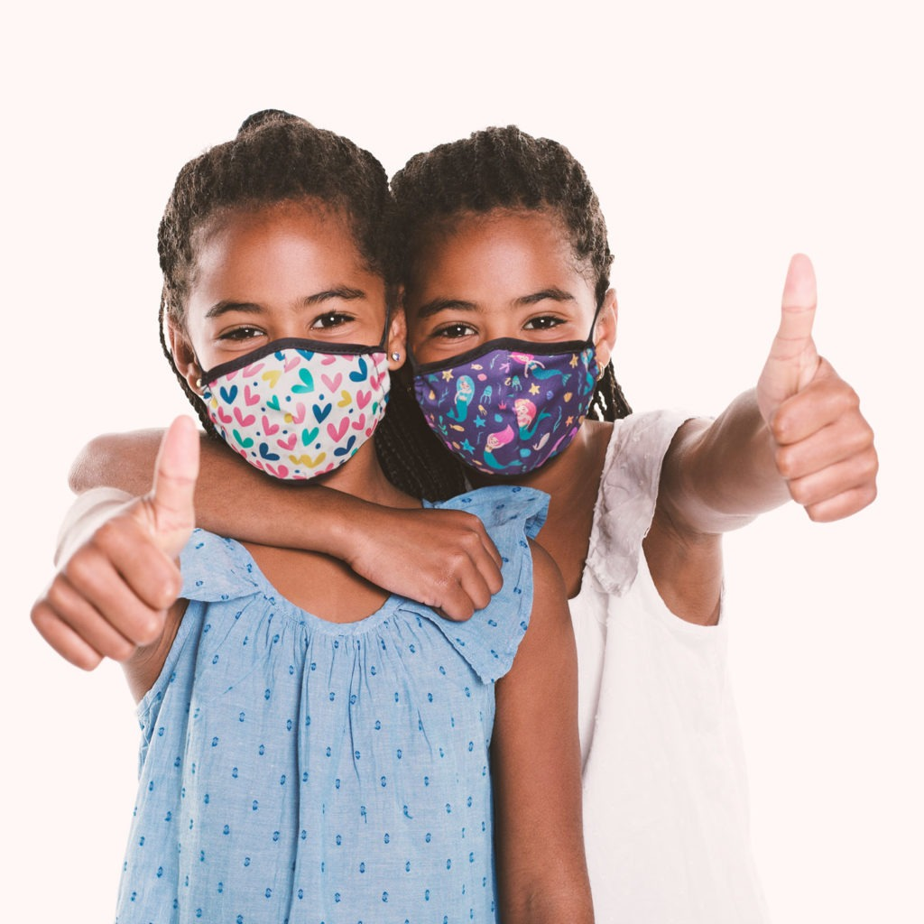 How to get your kids to wear face masks