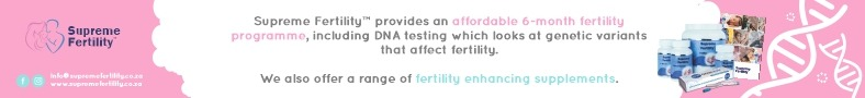 Supreme Fertility DNA testing banner