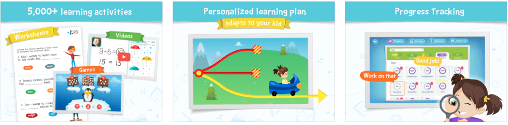 Kids Academy app