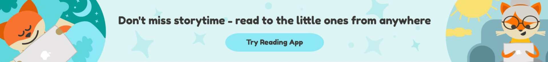Nooksy Reading App for Toddlers