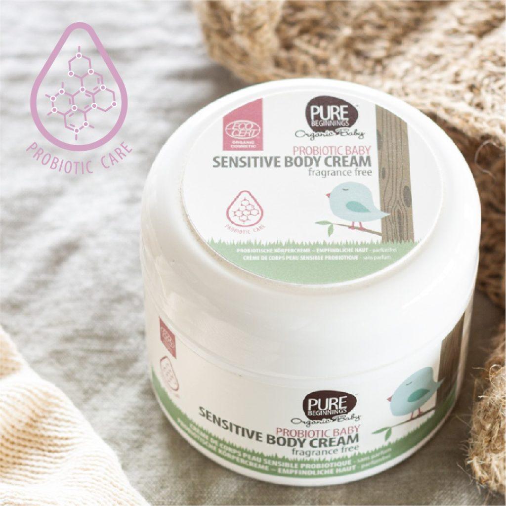 Pure Beginnings to treat dry skin in winter
