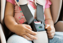 Car safety when driving with kids