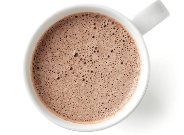 Recipe for delicious hot chocolate