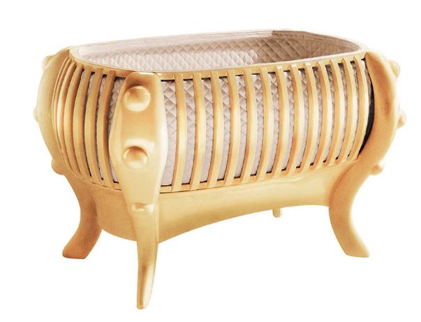 Suommo La Perla Crib Gold Edition